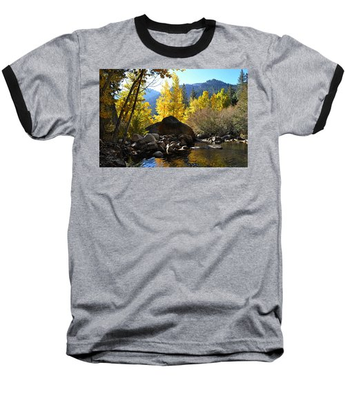 West Fork Of The Carson River Baseball T-Shirt