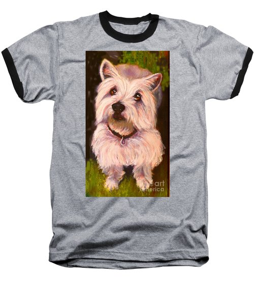 West Highland Terrier Reporting For Duty Baseball T-Shirt