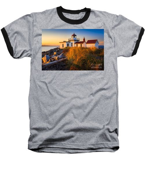 West Point Lighthouse Baseball T-Shirt