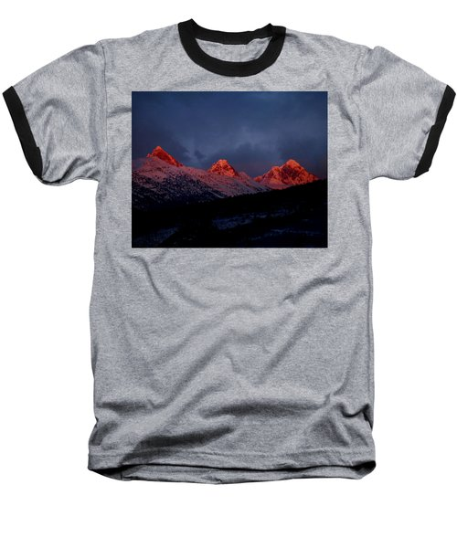West Side Teton Sunset Baseball T-Shirt