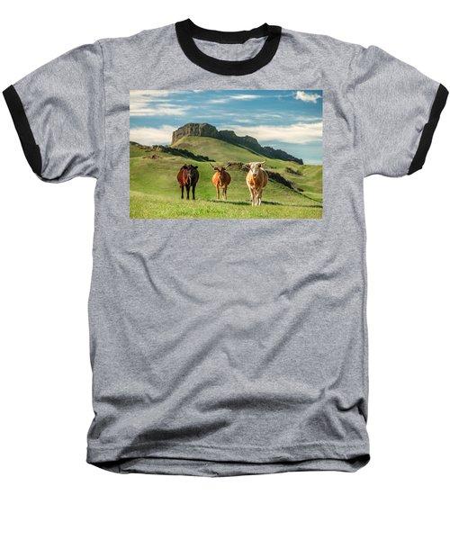 Western Longhorns Baseball T-Shirt