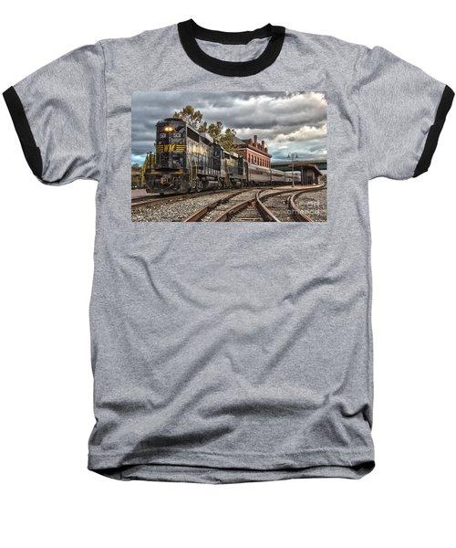 Western Maryland Scenic Railroad Baseball T-Shirt