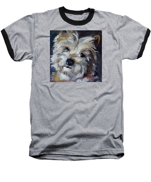 Westie Mix Baseball T-Shirt