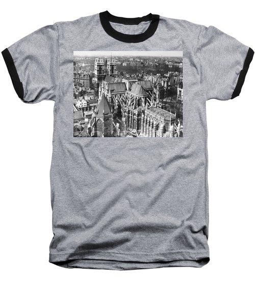 Westminster Abbey In London Baseball T-Shirt