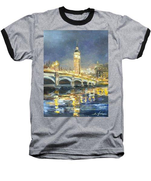 Westminster Bridge Baseball T-Shirt