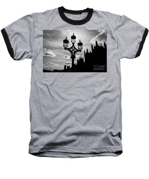 Baseball T-Shirt featuring the photograph Westminster Silhouette by Matt Malloy