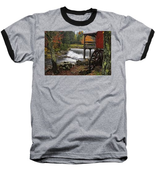 Weston Grist Mill Baseball T-Shirt