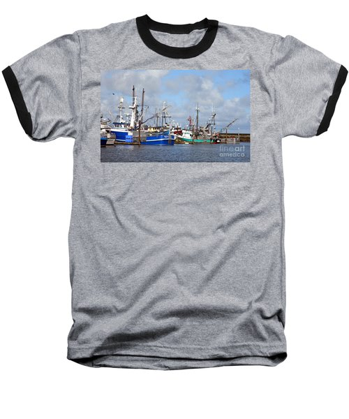 Westport Fishing Boats 2 Baseball T-Shirt