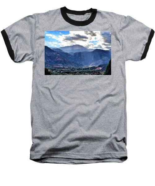 Westside Colorado Springs Baseball T-Shirt by Clarice  Lakota