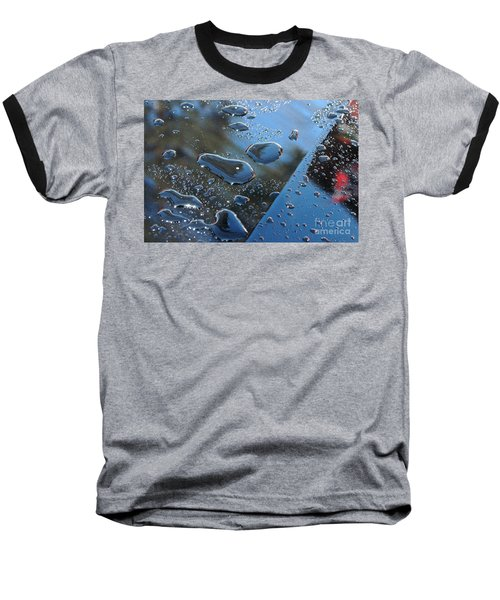 Baseball T-Shirt featuring the photograph Wet Car by Randi Grace Nilsberg