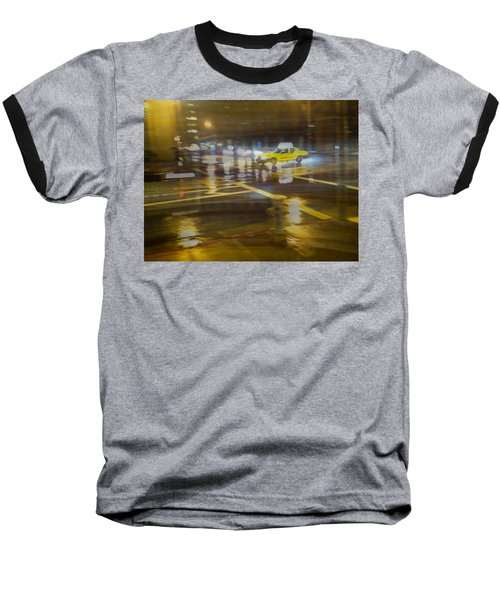 Baseball T-Shirt featuring the photograph Wet Pavement by Alex Lapidus