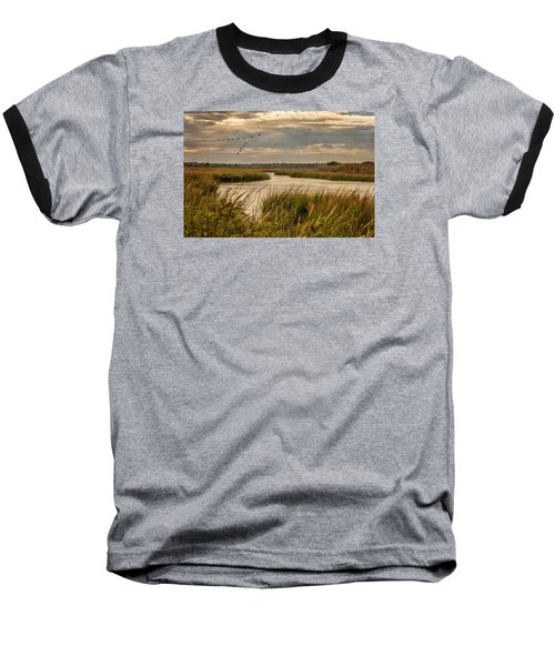 Wetlands In September Baseball T-Shirt