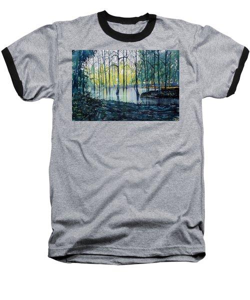 Wetlands On Skipwith Common Baseball T-Shirt