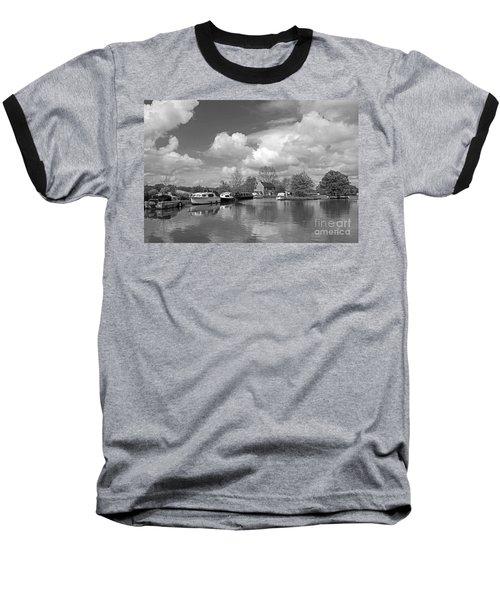 Wey Canal Ripley Surrey Baseball T-Shirt