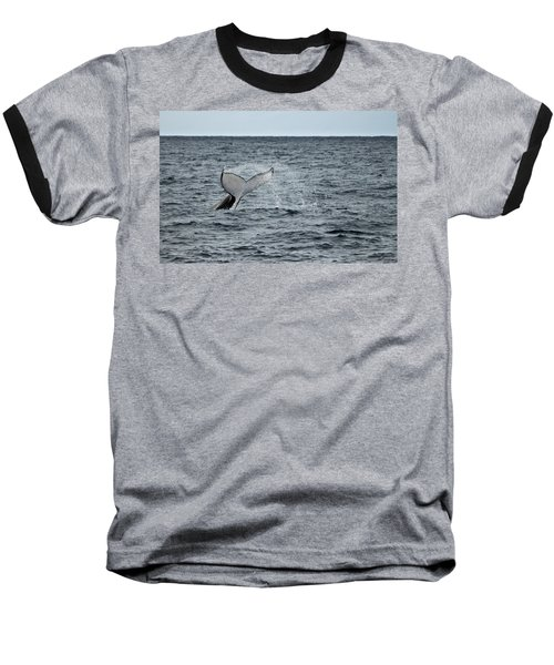 Baseball T-Shirt featuring the photograph Whale Of A Time by Miroslava Jurcik