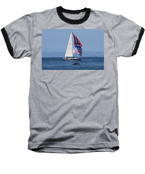 Whale Watching 2  Baseball T-Shirt