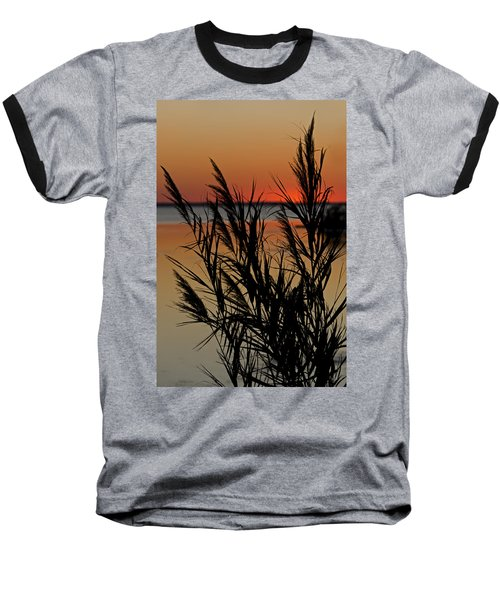 Baseball T-Shirt featuring the photograph Whalehead Sunset Obx II by Greg Reed