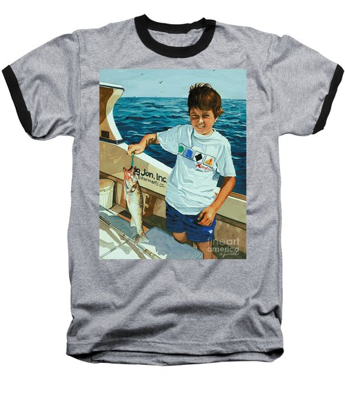 What A Catch Baseball T-Shirt by Barbara Jewell
