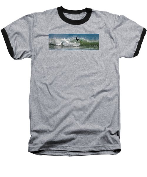 Baseball T-Shirt featuring the photograph What A Ride by Sami Martin