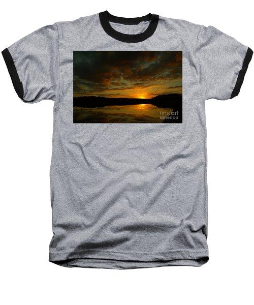 What A Sunset Baseball T-Shirt