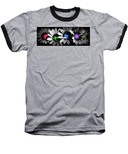 Colored Blind Baseball T-Shirt