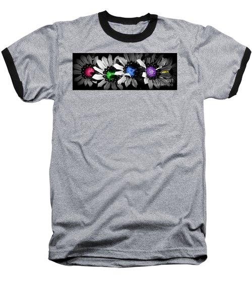 Colored Blind Baseball T-Shirt