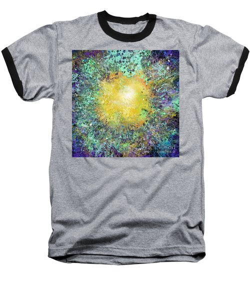 What Kind Of Sun Vii Baseball T-Shirt by Carol Jacobs