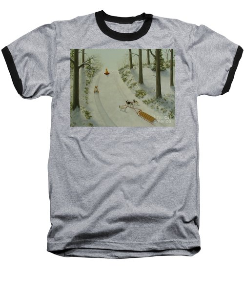 What They Do While We're At Work II Baseball T-Shirt