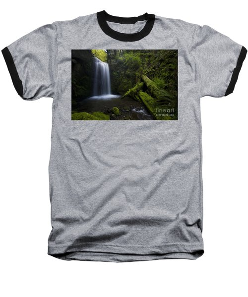 Whatcom Falls Serenity Baseball T-Shirt by Mike Reid