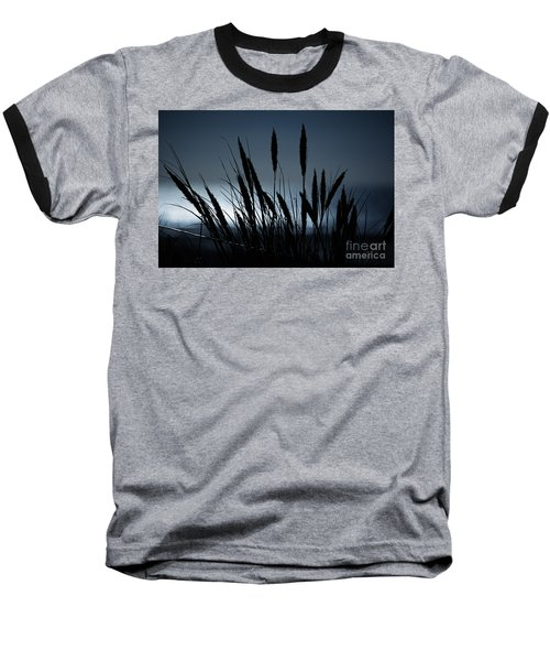 Wheat Stalks On A Dune At Moonlight Baseball T-Shirt