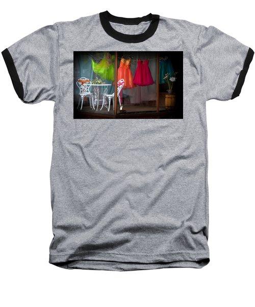 When A Woman Dreams Baseball T-Shirt