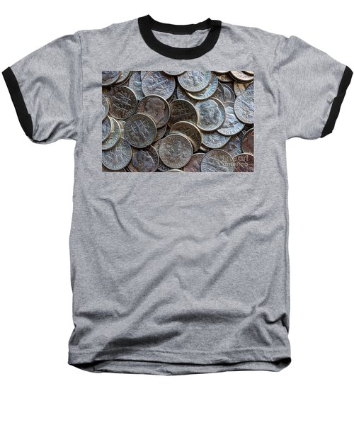 When Dimes Were Made Of Silver Baseball T-Shirt