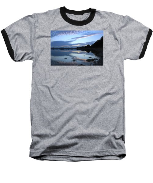 Baseball T-Shirt featuring the photograph When Gold Turned To Blue by Wendy Wilton