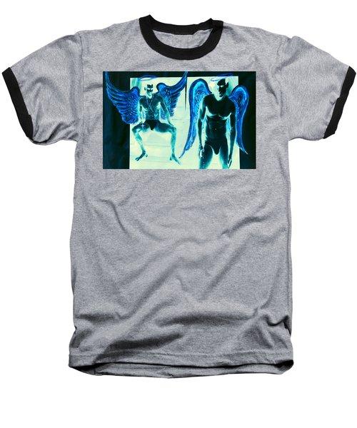 When Heaven And Earth Collide Series Baseball T-Shirt