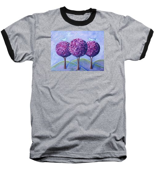 When The Cherry Trees Are Blooming Baseball T-Shirt