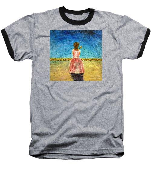Where Angels Sleep Baseball T-Shirt