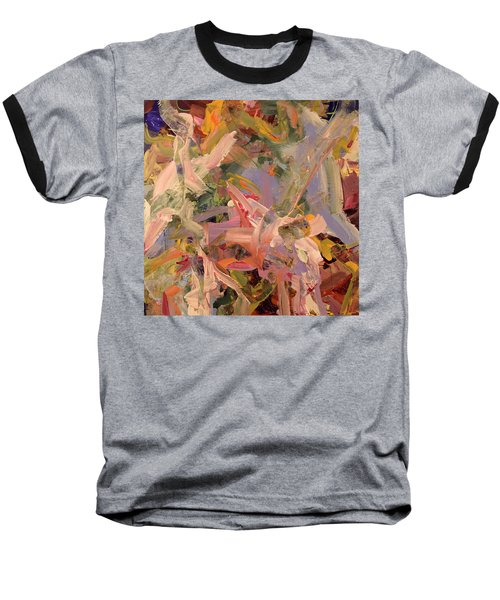 Where I Found You Baseball T-Shirt by Erika Pochybova