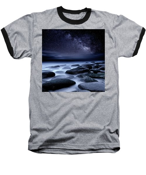 Where No One Has Gone Before Baseball T-Shirt by Jorge Maia
