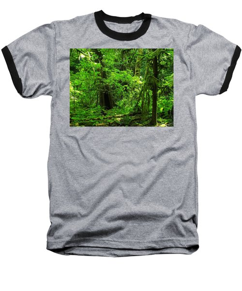 Where The Forest People Live Revised Baseball T-Shirt