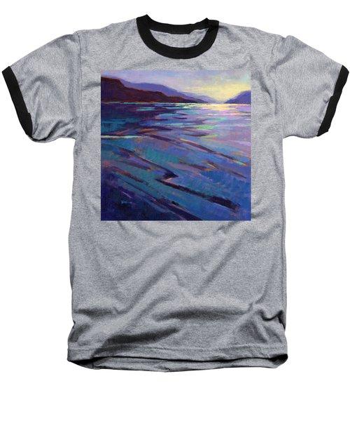 Where The Whales Play 3 Baseball T-Shirt