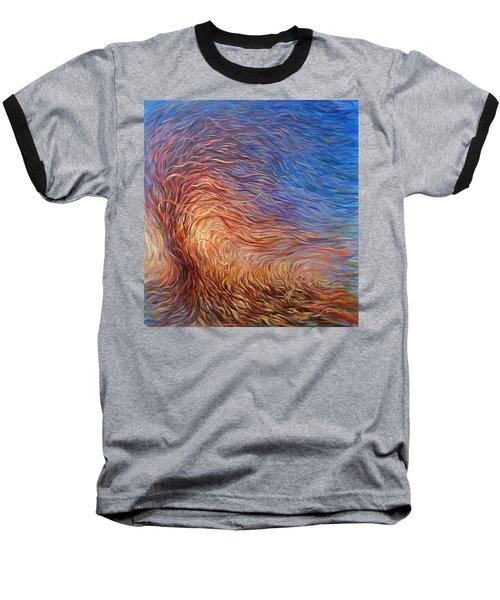 Whirl Tree Baseball T-Shirt by Hans Droog