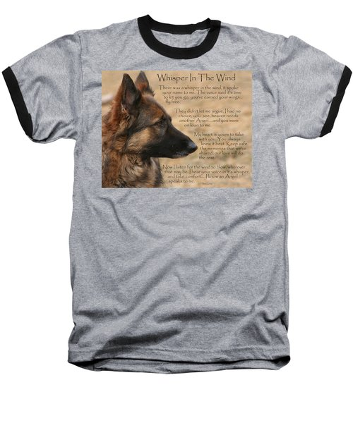 Whisper In The Wind Baseball T-Shirt