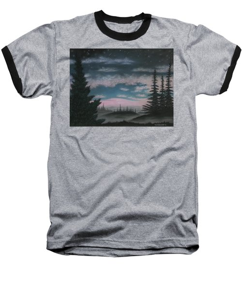 Whispering Pines 02 Baseball T-Shirt