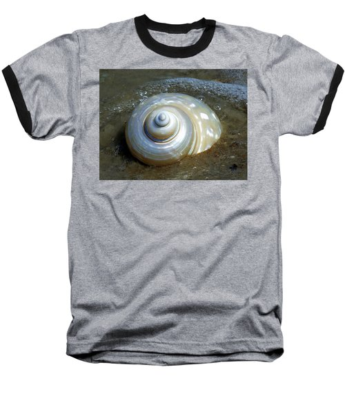 Whispering Tides Baseball T-Shirt
