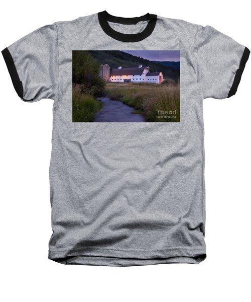 White Barn Baseball T-Shirt