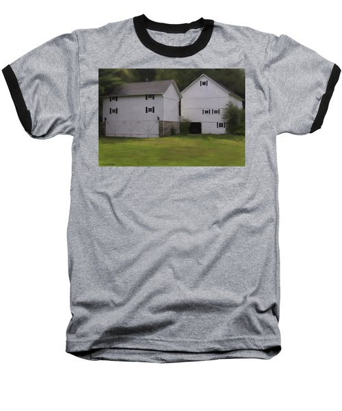 White Barns Baseball T-Shirt