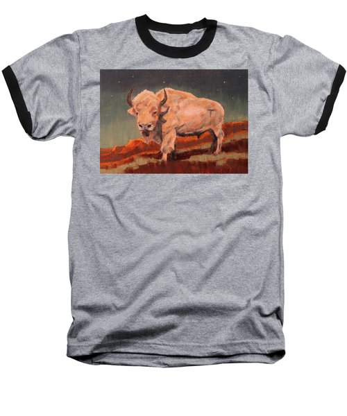 White Buffalo Nocturne Baseball T-Shirt
