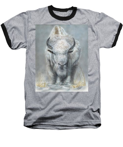 White Buffalo Baseball T-Shirt