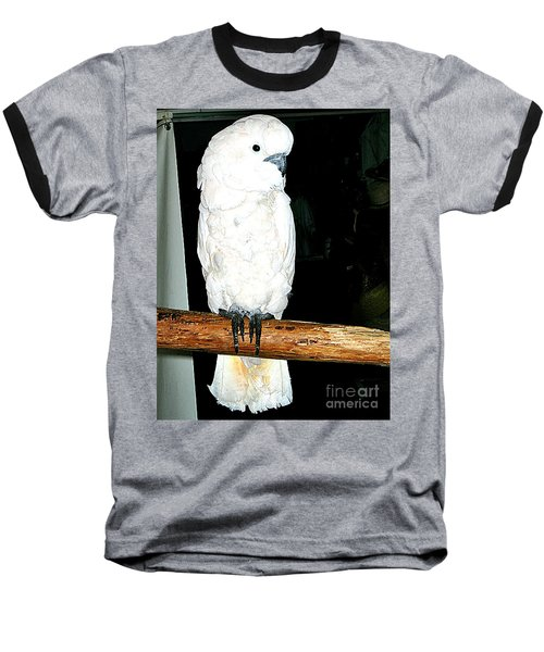 White Cockatiel-loreto Mx. Baseball T-Shirt