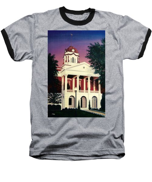 White County Courthouse Baseball T-Shirt